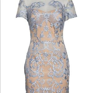 Nordstrom JS Collections Embroidered Sheath Dress